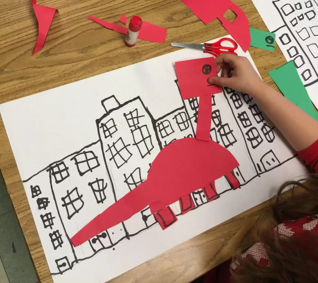 If The Dinosaurs Came Back Art Projects For Kids