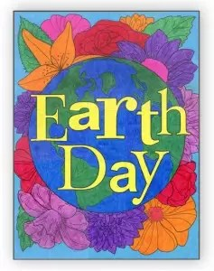 Earth Day Floral post