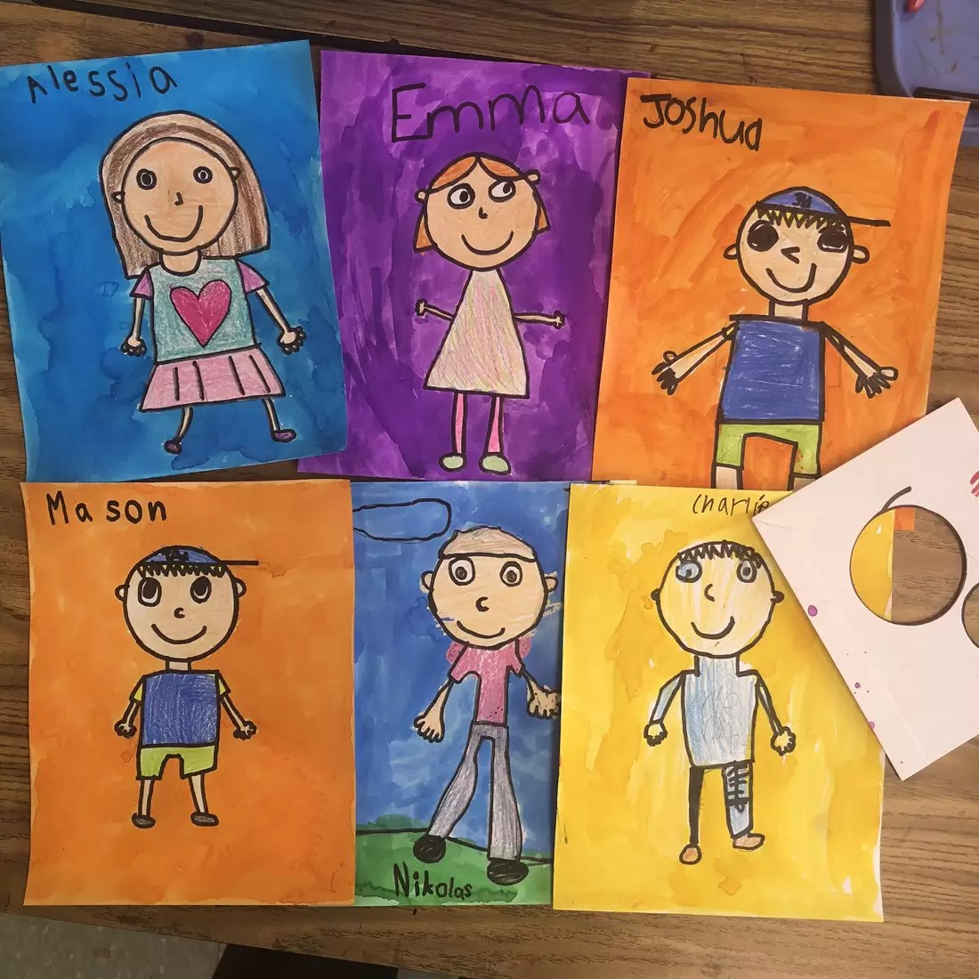 Self Portrait Drawing For Kids Art Projects For Kids