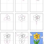 How To Draw A Daffodil Art Projects For Kids