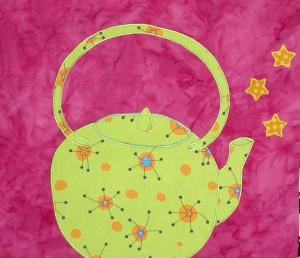 Tea Kettle with Stars