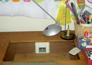 Where the Sewing Machine Should Be