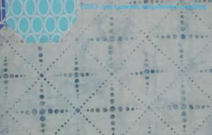 Grey on White Batik detail