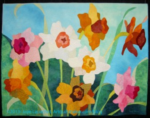 Flower Field by Emily Parson