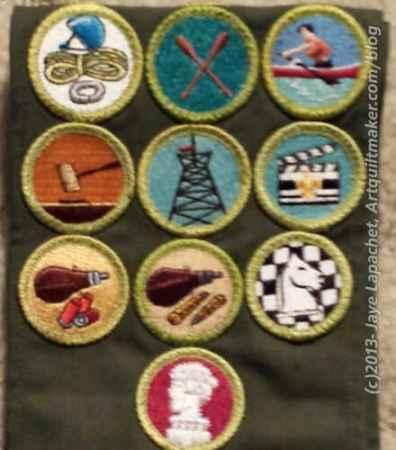 Recent merit badges