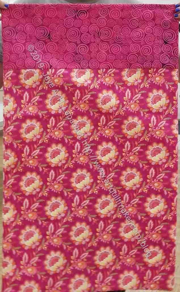 Pink Flowery Pillowcase