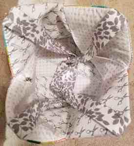 Mondo Bag lining and handles