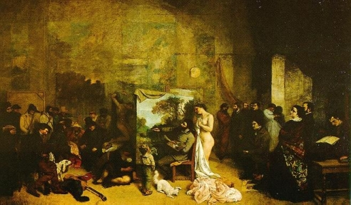 L'Aterlier by Courbet