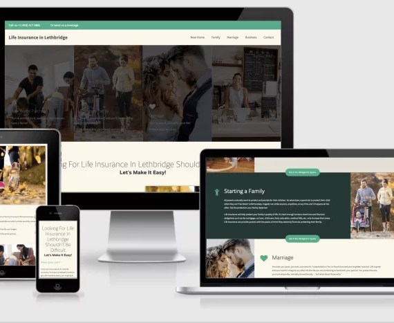 Web Design Markup for LethbridgeLife.ca by Artrageous Advertising
