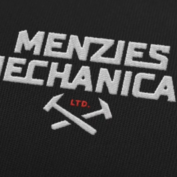 Logo Design Mockup 2 for Menzie's Mechanical