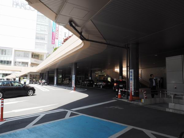 仙台駅西口の車での待ち合わせ場所