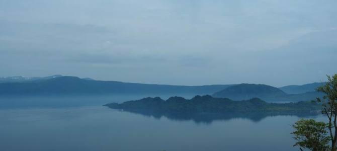 十和田湖の初夏の風景写真