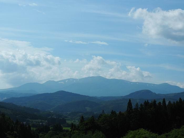 栗駒山の風景写真