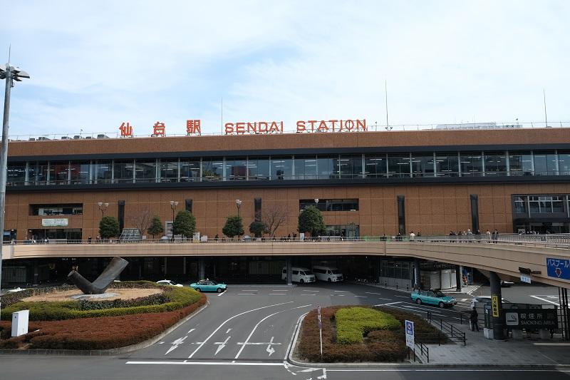xt3レビュー画質の評価仙台駅の風景写真