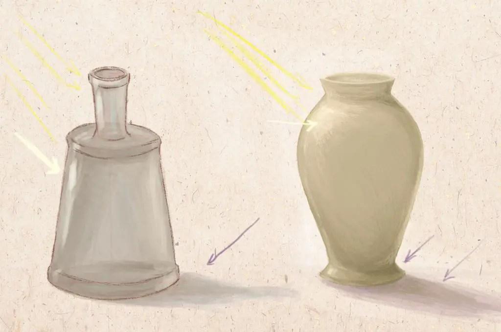 Světlo a stín na váze