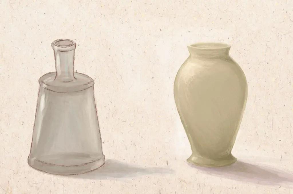 Decante a váza