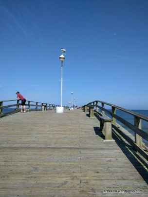 The walk in the pier