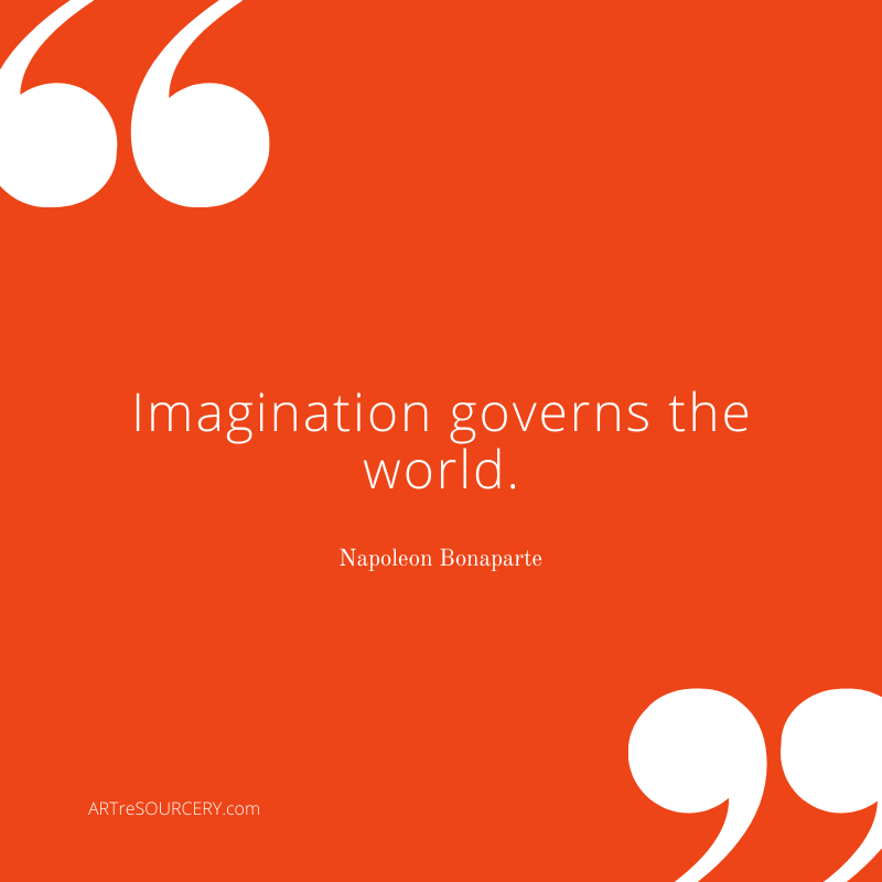 Imagination governs the world. - Art Quote by Napoleon Bonaparte