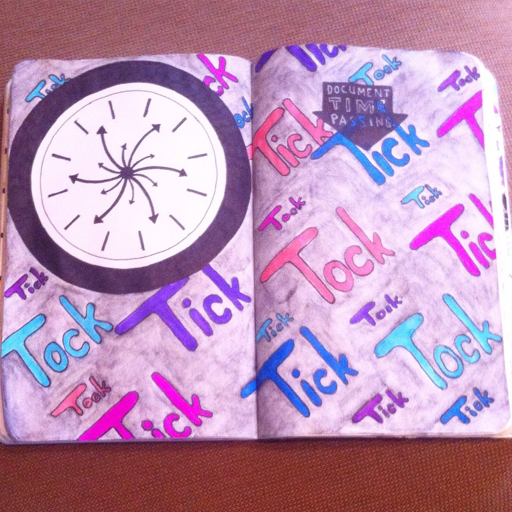Wreck This Journal Pages 6 - 9 (4/6)