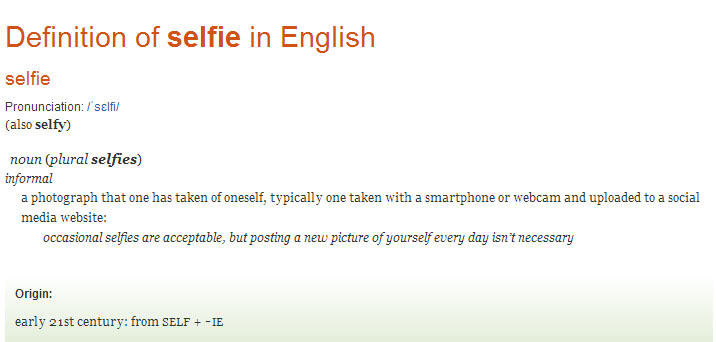 The Self Portrait  and the  Selfie. - My Full Dissertation Paper (2/6)