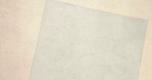 OBRA DE ARTE DA SEMANA: Quadrado branco sobre fundo branco de Malevich
