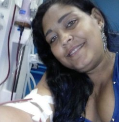 Etiene faz hemodiálise desde os 14 anos