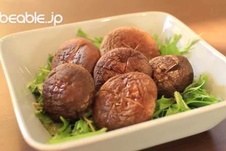 ジューシーな味わいで美味しい!肉厚焼きしいたけの作り方・レシピ
