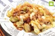 ご飯がすすむ!豚バラキャベツのオイスター炒めの作り方・レシピ
