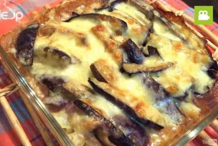 相性ばっちりで美味しい!ナスのみそチーズ焼きの作り方・レシピ