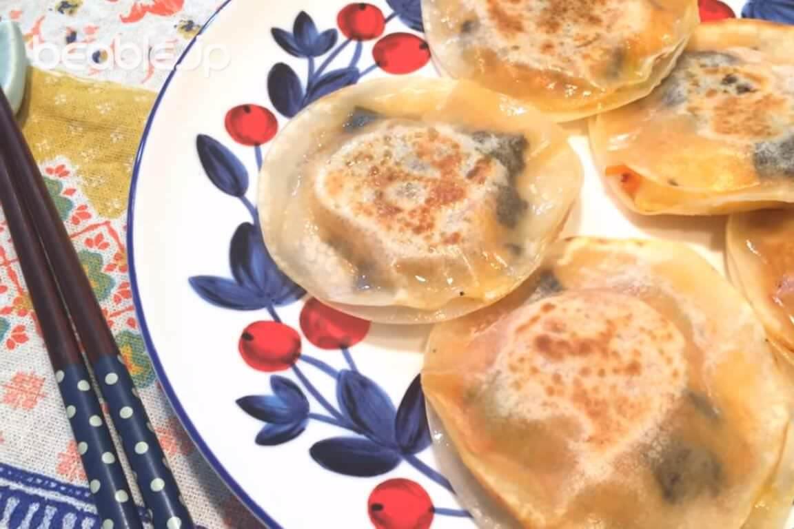 トロトロチーズが最高!簡単キムチーズ円盤ぎょうざの作り方・レシピ