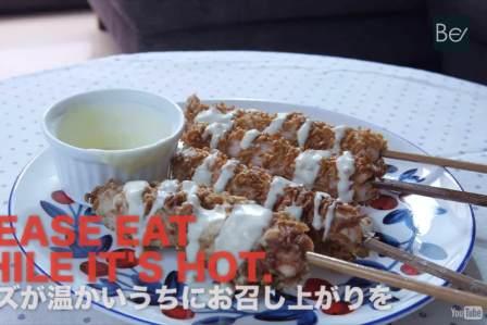 ジャンキー!魚肉ソーセージとチーズのラーメン天ぷらの作り方・レシピ