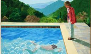 How much is a painting worth? David Hockney, Portrait of an Artist (Pool with Two Figures)