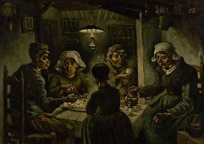 Ван Гог едоки картофеля