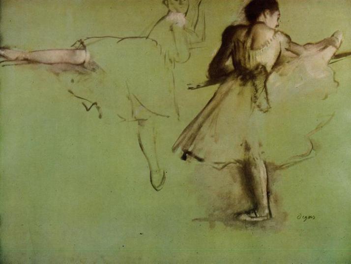 Эдгар Дега танцовщицы