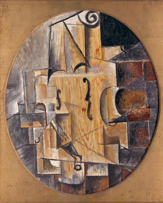Пикассо скрипка