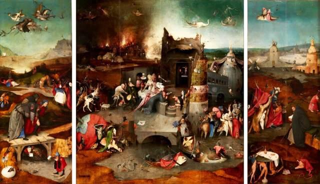Босх Искушение святого Антония
