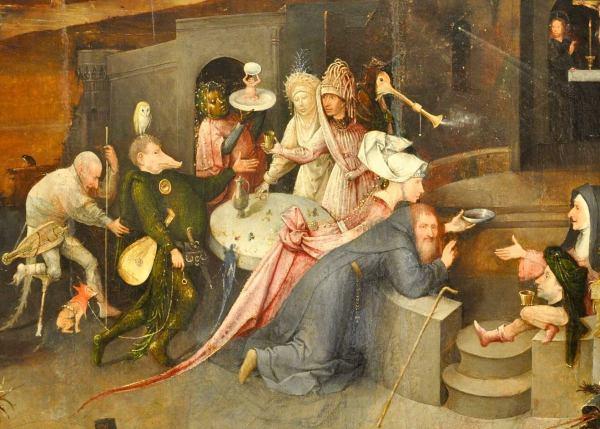 quotИскушение святого Антонияquot Босха Самые яркие монстры