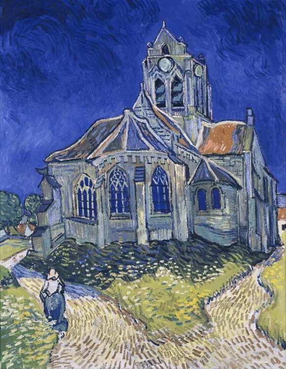 Ван Гог церковь в Овере