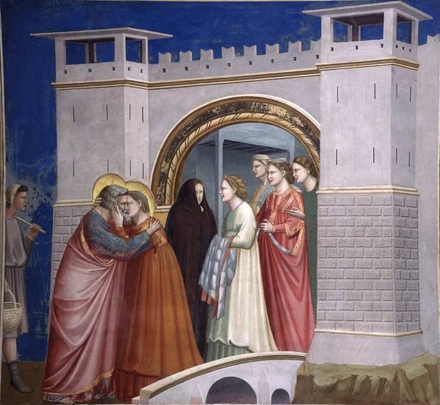 Джотто встреча у золотых ворот