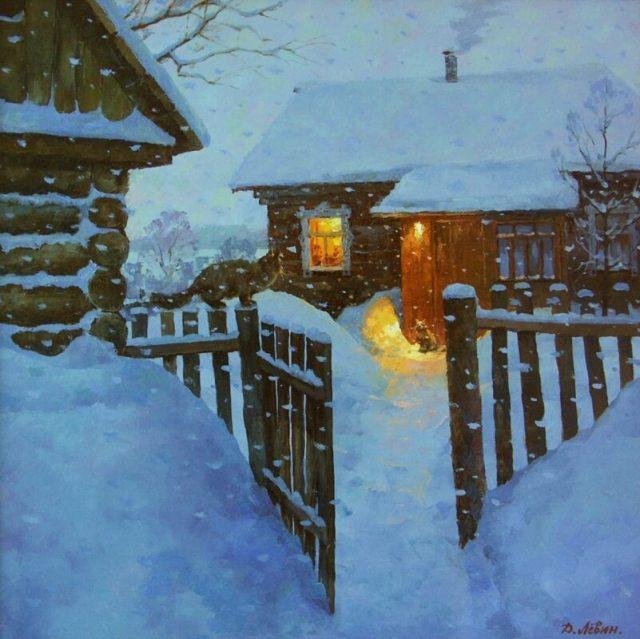 Дмитрий Левин Зимний вечер Свидание