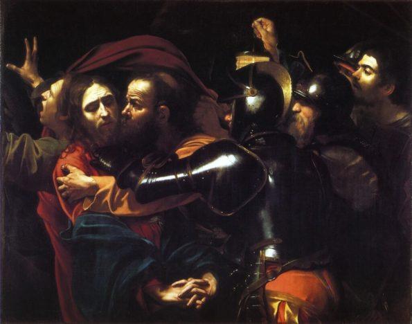 Караваджо поцелуй Иуды