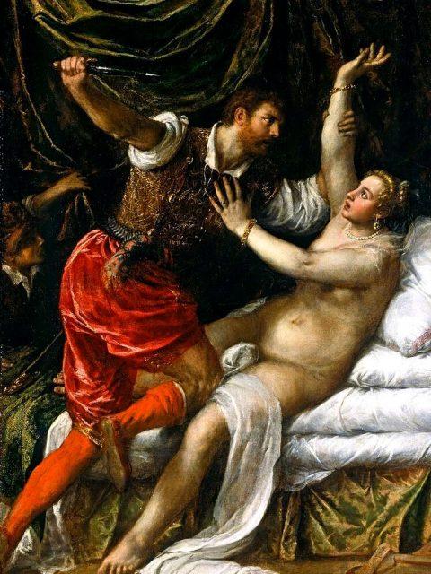 Тициан тарквиний и Лукреция
