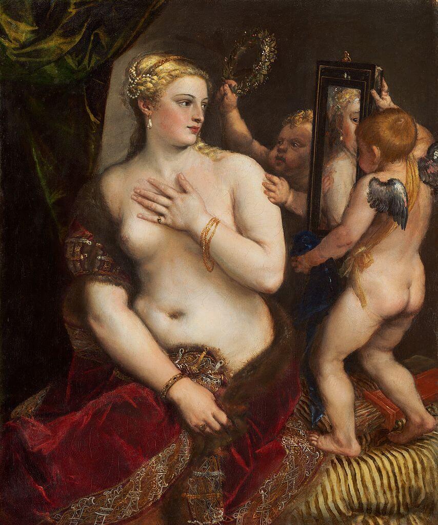 Тициан Венера перел зеркалом