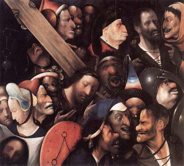 Босх несение креста гент