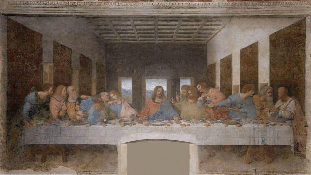 Леонардо да Винчи тайная вечеря