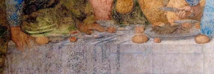 Леонардо тайная вечеря детали