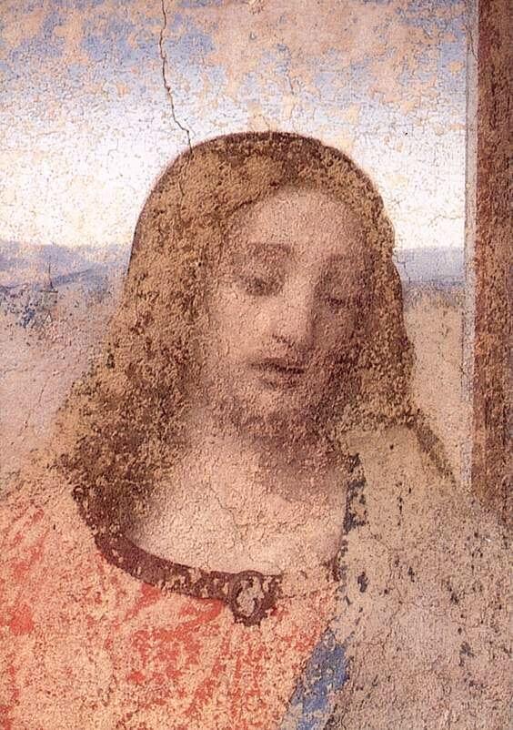Леонардо да Винчи Христос