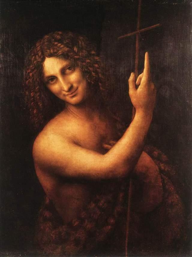 Леонардо да Винчи Иоанн Креститель