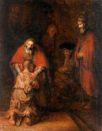 Рембрандт. Возвращение блудного сына