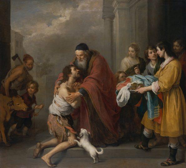 Мурильо Возвращение блудного сына